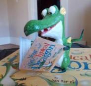 Crispin Blaze reading Not Your Typical Dragon