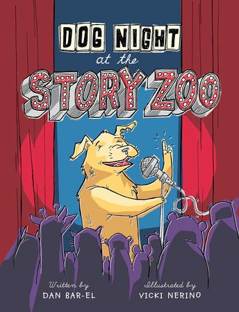 Dog Night at the Story Zoo is nominated for the Joan Stuchner Oy Vey! funny book award