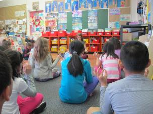 "Strathcona Elem. in Vancouver used ""Dream Boats"" as a focus for a meditation."